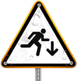 Pictogram street signs 4 vector image vector image