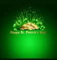 StPatricks Day background vector image vector image