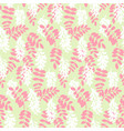 stylized floral colorful vibrant seamless vector image vector image