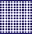 tablecloth tartan fiber fabric pattern line vector image vector image