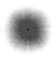 abstract halftone circles dot template eps 10 vector image vector image