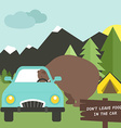 Camping Rules vector image vector image