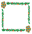 christmas frames 05 vector image