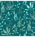 Dark Green Seaweed Underwater Plants vector image vector image