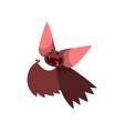 happy cartoon halloween character laughing vector image vector image