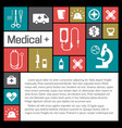 medical help and health background vector image vector image