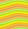 orange wavy stripes background vector image