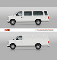 suv cars template vector image