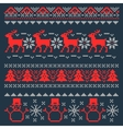 Christmas Pixel Background Scandinavian vector image