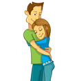 Happy Couple vector image