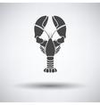 Lobster icon vector image vector image