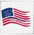 Memorial Day vector image vector image