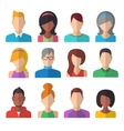 People Icons Set Team Concept vector image vector image