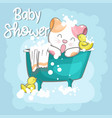 cute bacat for kids vector image vector image