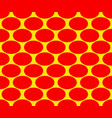 duotone pop art polka dots pattern seamlessly vector image vector image