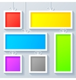Group of Color Frames vector image vector image