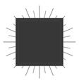 label frame vintage design vector image vector image