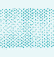 mint blue abstract background with dots vector image