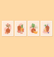 modern minimalist contempporary art summer vector image vector image