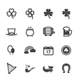 Saint Patricks Day Icons
