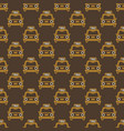 taxi retro car seamless pattern in thin vector image