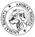 animal rights vector image