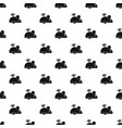 clockwork mouse pattern vector image vector image