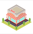 isometric restaurant icon vector image