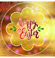 poster for happy easter 16 vector image vector image