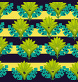 tropical natural leaves vector image vector image