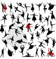 Ballet dancer vector image