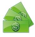 bills icon vector image