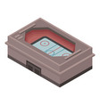 city sport arena icon isometric style vector image vector image