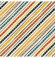 Colorful striped seamless pattern vector image vector image