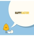 easter social media concept background vector image