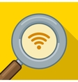 Search wifi symbol find wifi vector image