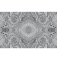tribal and folk ornament - coloring page vector image vector image