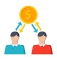 Sharing Economy Icon vector image