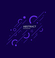 abstract geometric background poster with the vector image vector image