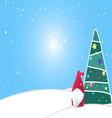 ChristmasBG01 X vector image vector image