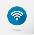 computer wifi connection icon for a phone or vector image