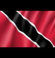 flag trinidad realistic icon vector image vector image