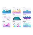 infographic diagram statistics bar graphs vector image vector image