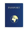passport 01 vector image vector image