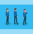 teacher in uniform working concept icons vector image vector image