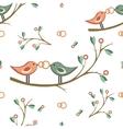 cute wedding seamless pattern seamless vector image
