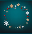 fairy stars and snowflakes vector image