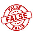 false stamp vector image vector image