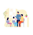 family money bank finance education budget vector image vector image