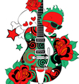 guitar vector image vector image